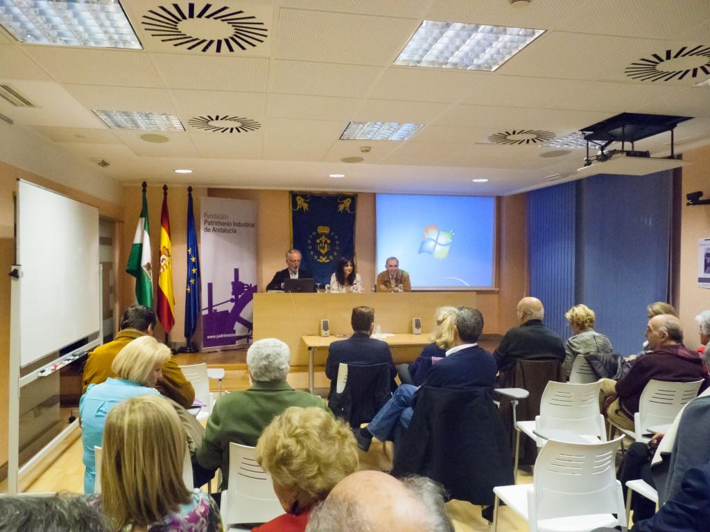 Inauguración del primer 'Ciclo de Industrias Centenarias de Andalucía', organizado por FUPIA