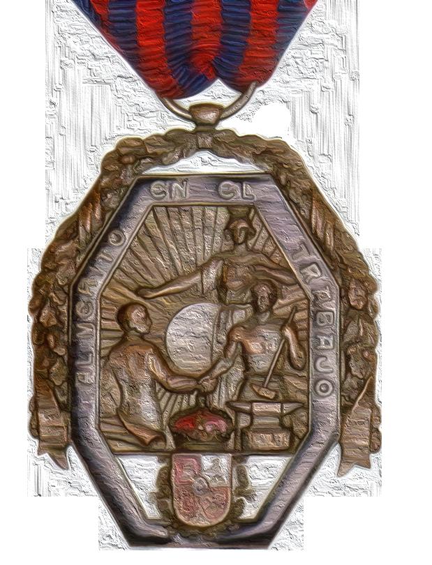 Medalla Trabajo 1926